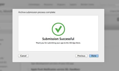 Step Five – App Store Submission-min
