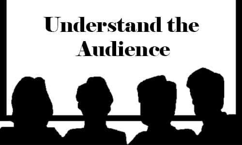 Understand the Audience-min